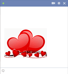 Heart Icons for Facebook