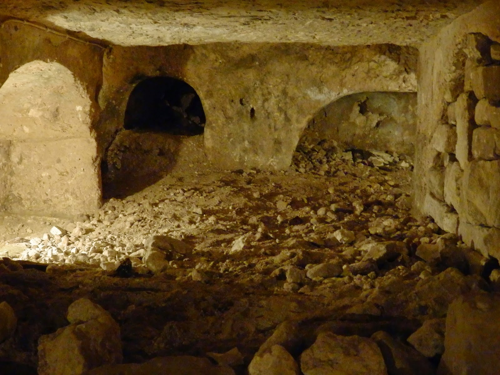Roman catacombs Malta
