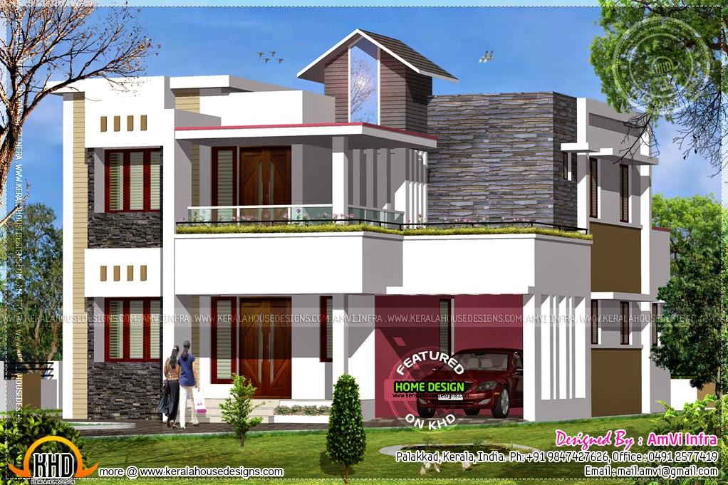 Modern Style Tamil House Keralahousedesigns