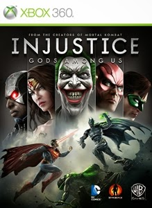 cover xbox360 du jeu injustice
