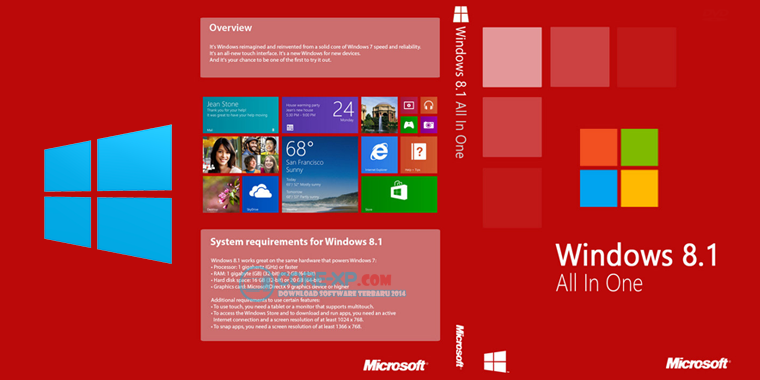 Windows 8.1 All in One with Update RTM x86-x64