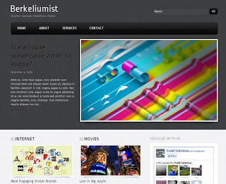 WordPress-Template Berkeliumist