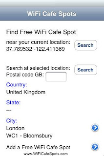 London Free WiFi IPA App Version 1.2