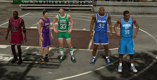 How to unlock NBA Stars on NBA 2K13's Blacktop mode