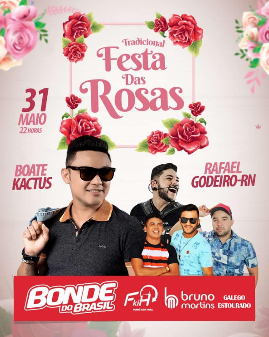 Rafael Godeiro -RN A Tradição Continua Tradicional Festa Das Rosas