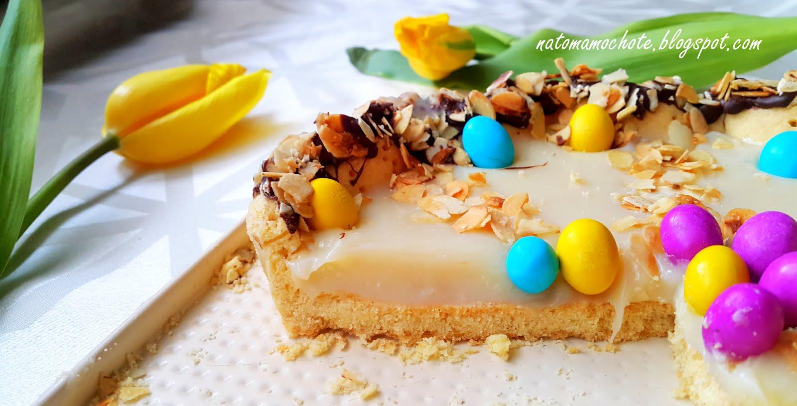 Wielkanocny Mazurek na Mleku Skondensowanym
