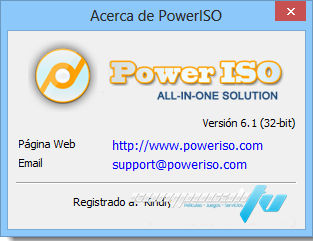 PowerISO v6.6 Full Español Final