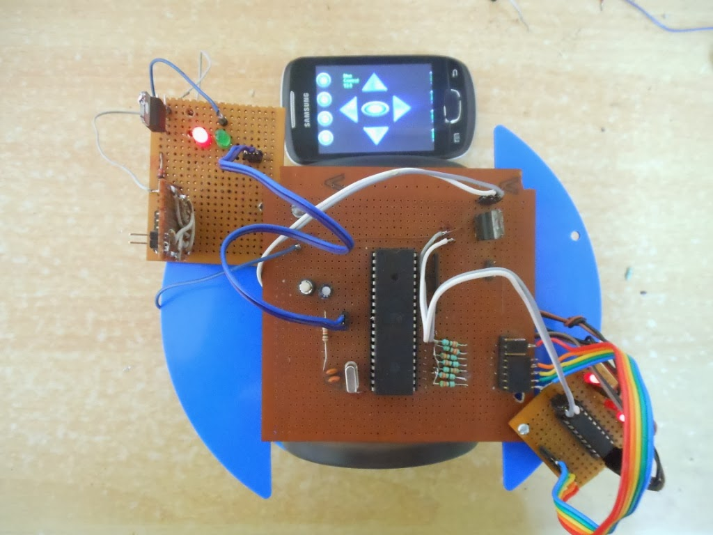 Android Controlled Robot Using 8051 Microcontroller About Final Projects For Engineering Students