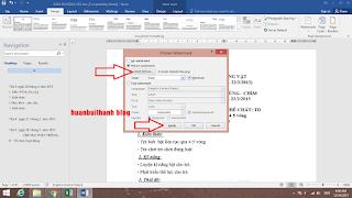 Cách đóng dấu bản quyền vào file Word
