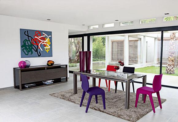 Home adely interiores comedor for Living comedor moderno 2016