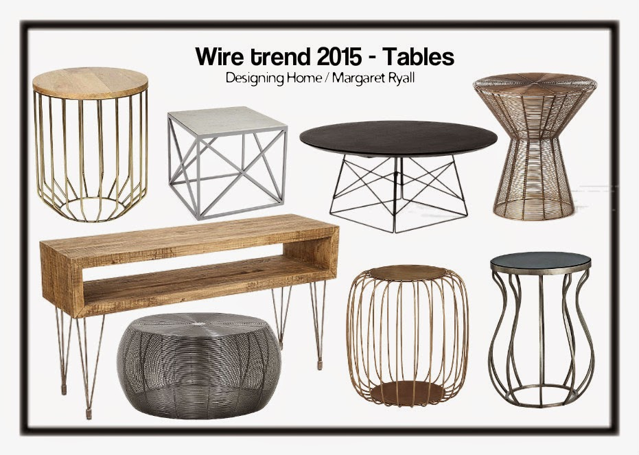 wire trend tables 2015