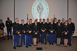 The 15 ROTC cadets commissioned by the U.S. Army.