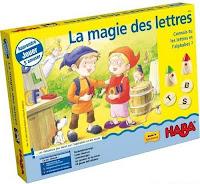 Jeu pédagogique : La magie des lettres