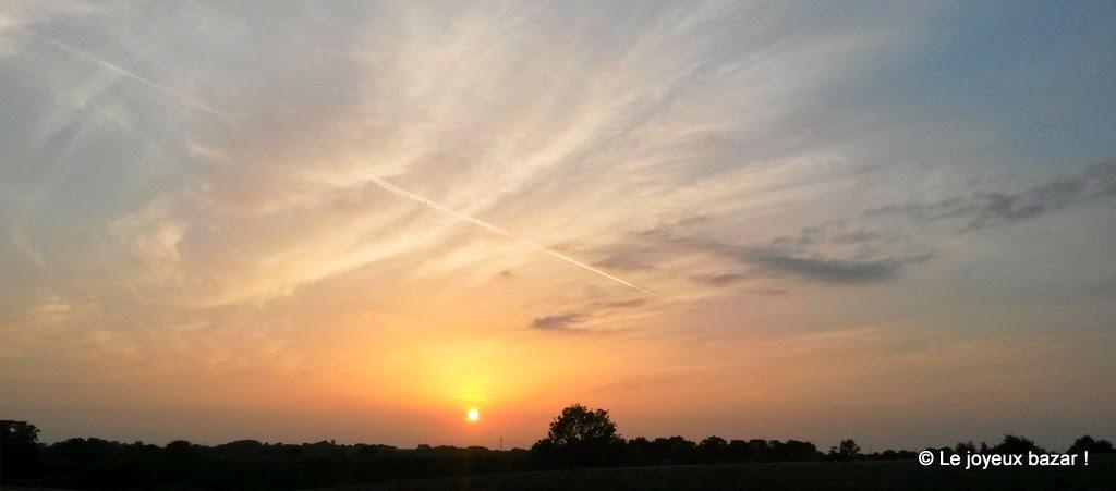 Bretagne - coucher de soleil