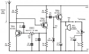 Simple Lightning Detector Circuit