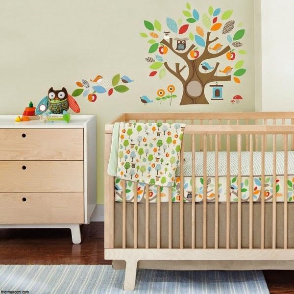 Modele Cuisine Exterieur Pierre : Déco chambre bébé hibou  Bébé et décoration  Chambre bébé