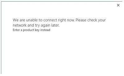 Buka Word 2013 nanti ada error seperti ini: