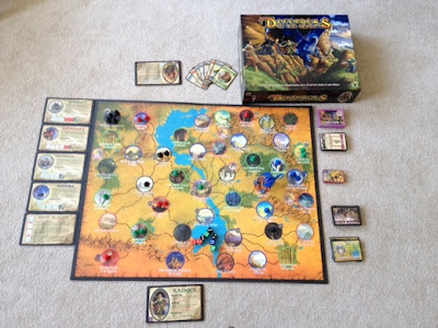 Defenders of the Realm game in play