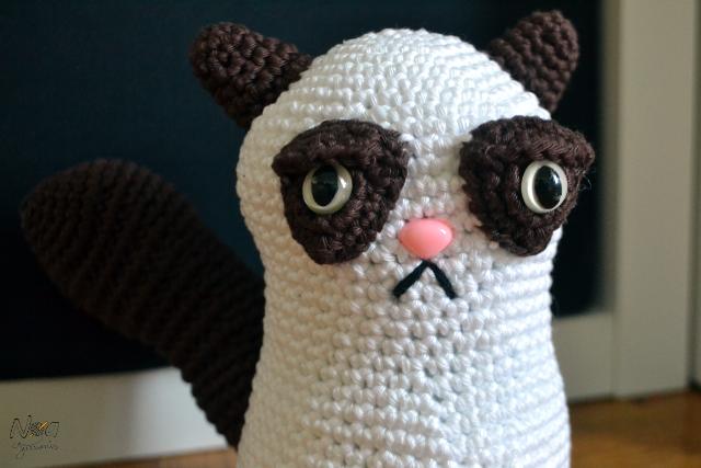 Noagurumis - Blog de ganchillo: Grumpy Cat Amigurumi
