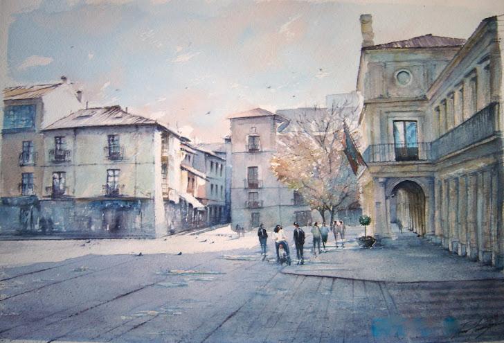 Plaza de las palomas. León.