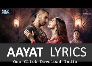 Aayat Song Lyrics