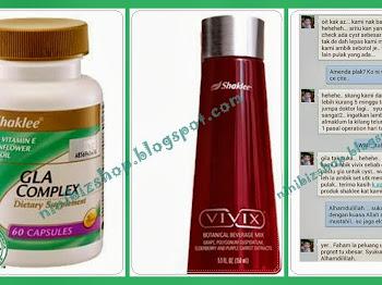Vivix Shaklee Berjaya Menyembuhkan Penyakit Kritikal