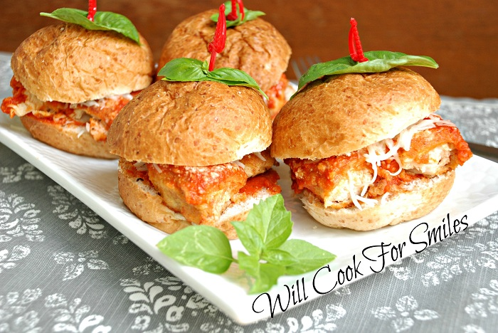 Chicken Parmesan Sliders Will Cook For Smiles