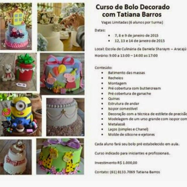 Curso De Cake Design Viseu : Tatiana Barros