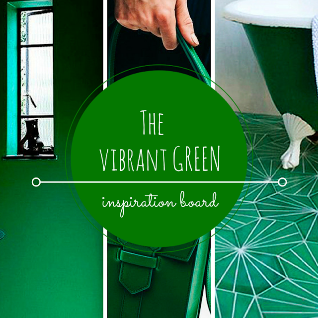 VIBRANT GREEN • WEEKLY COLOR INSPIRATION • THE ROUND BUTTON BLOG