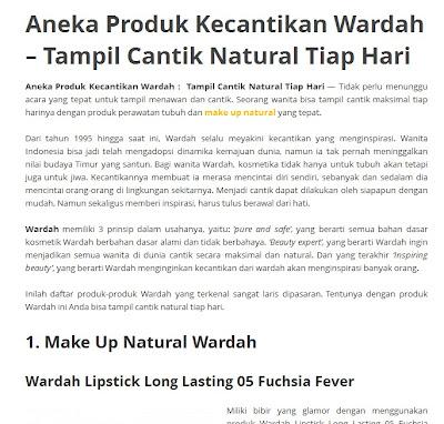 Wardah Kosmetik Wardah Online 087788157036: Wardah ...