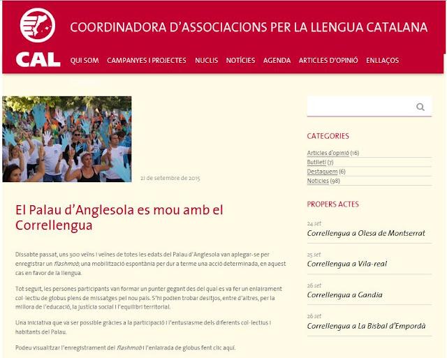 http://www.cal.cat/el-palau-danglesola-es-mou-amb-el-correllengua/