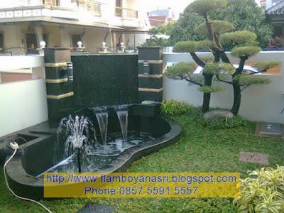 Tukang Taman Surabaya konsep air mancur