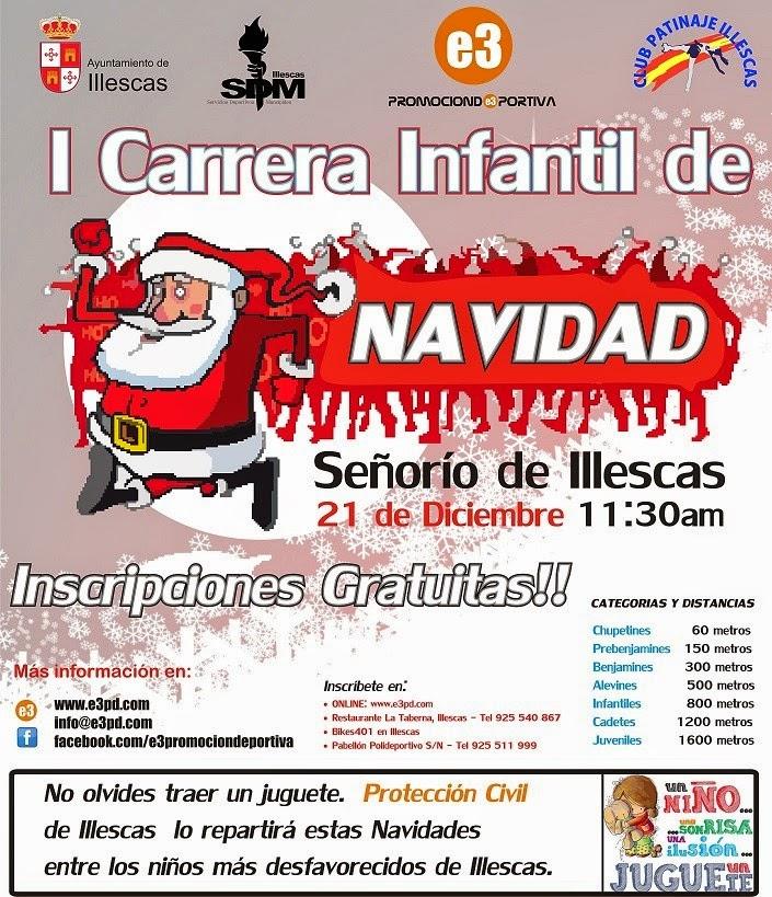 I Carrera Infantil de Navidad de Illescas