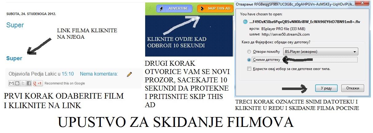 Besplatno Skidanje Filmova SA Prevodom