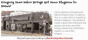Gregory Dean Salon Brings Art Deco Elegance to Essex!
