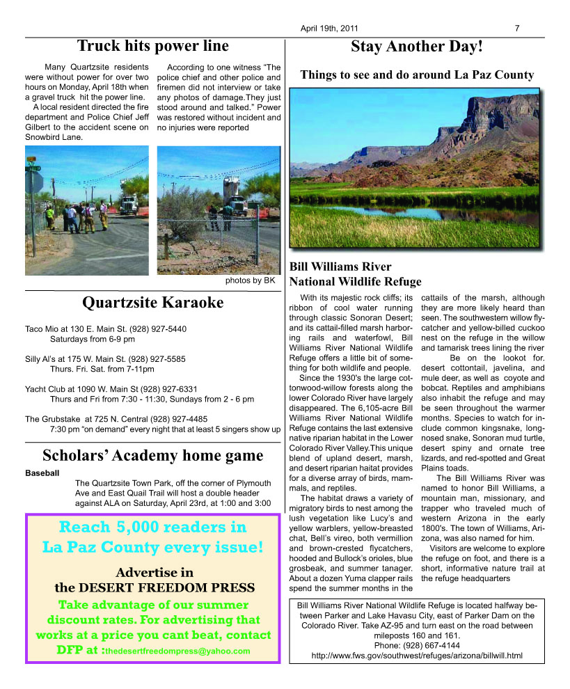 The DESERT FREEDOM PRESS: issue 9 page 7