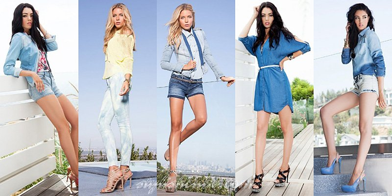 Guess Spring Summer 2013 Collections