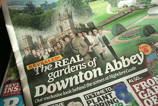 The Real Gardens of Downton Abbey