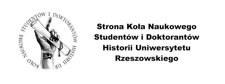 Koło Naukowe Studentów i Doktorantów Historii Uniwersytetu Rzeszowskiego
