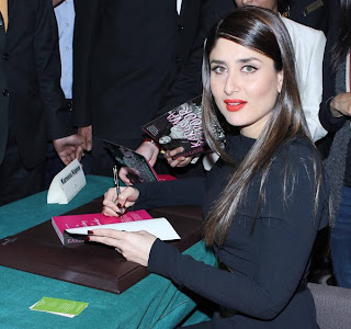 Kareena Kapoor launched 'The Style Diary of a Bollywood Diva'