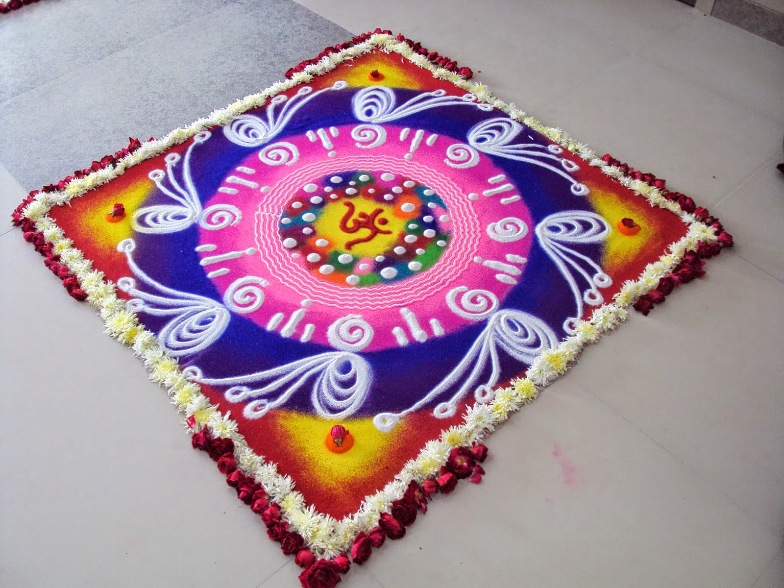 Rangoli Design for Ugadi 10. 30 Rangoli Designs for all Occasions