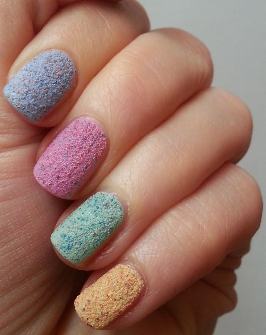 Pie's Eyes & Other Sparkly Stories...: Kiko Cupcake Nail ...