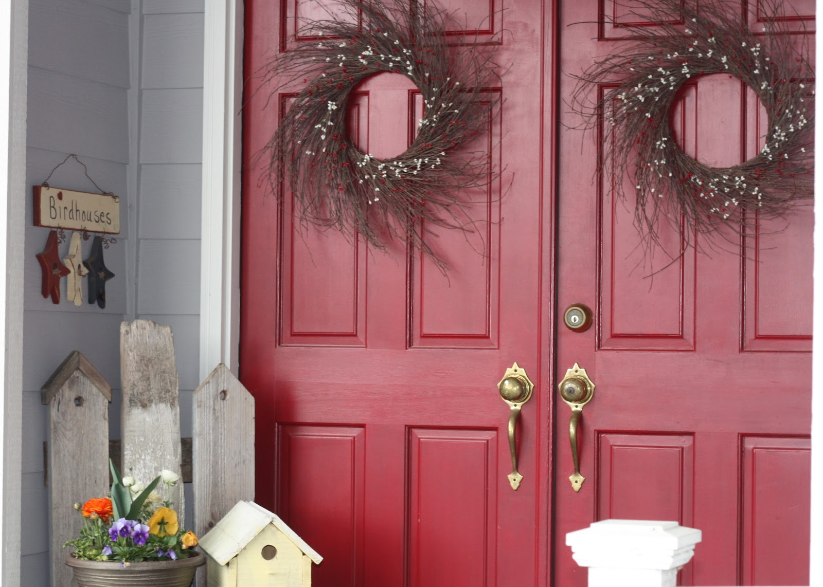 Front Door Springification - home is where my story begins...