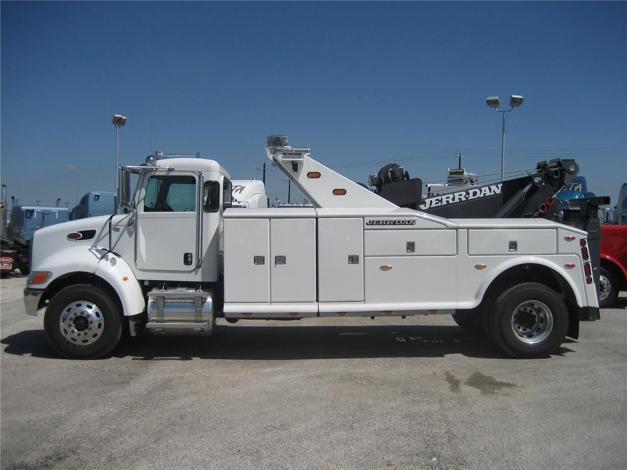 Arm Lift San Antonio >> Bigtruckbrad's World of Work Trucks: Brand new 2013 Peterbilt 337 with Jerr Dan 25 Ton wrecker SOLD