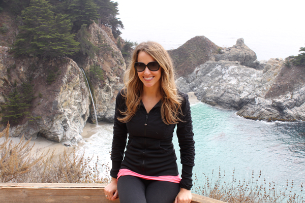 Picture at McWay Falls, Big Sur