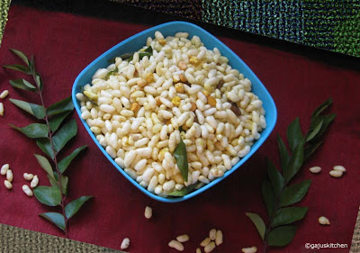 masala pori spicy puffed rice snack