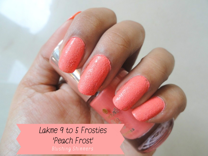 Lakme 9 To 5 Frosties