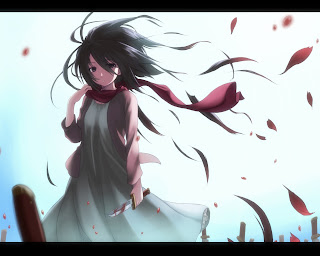 Mikasa Ackerman Attack on Titan Shingeki no Kyojin Anime Girl HD Wallpaper Desktop PC Background 1818
