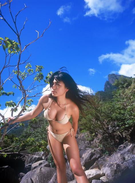Asian Girl Yukie Kawamura Lingerie Pics