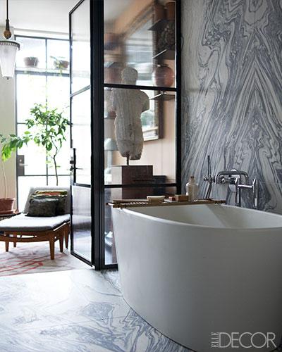 traditional elle decor master bathroom design